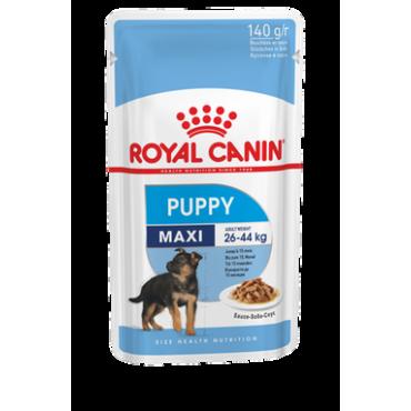 Royal Canin Maxi Puppy šlapias ėdalas (140g. x 10vnt.)