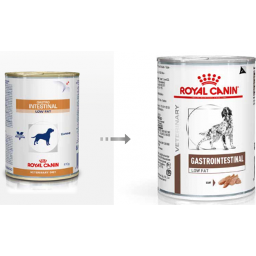 Royal Canin Gastro Intestinal Low Fat Dog 400g