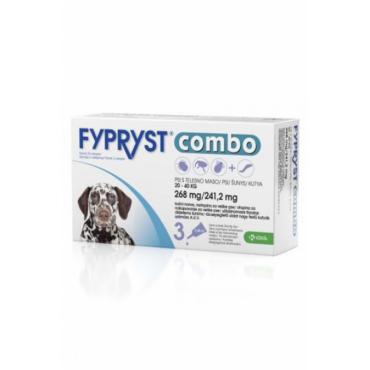 Fypryst Combo šunims 20-40kg (1 pip.)