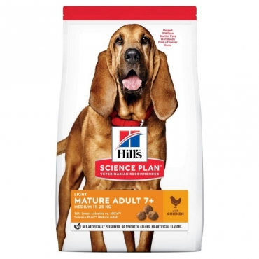 Hill's Canine Mature Light Medium Chicken 14kg