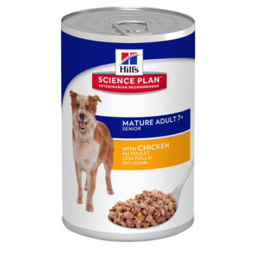 Hill's™ Science Plan™ Canine Mature Adult 7+ with Chicken konservai 370g