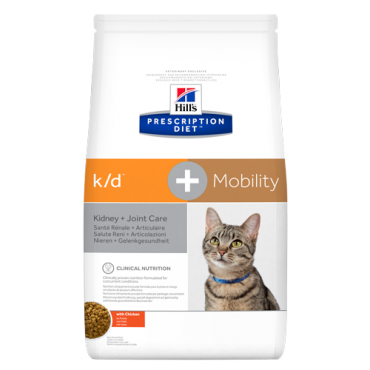 Hill's Prescription Diet™ k/d™+Mobility Feline with Chicken