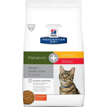 Hill's® Prescription Diet® Metabolic + Urinary Stress Feline
