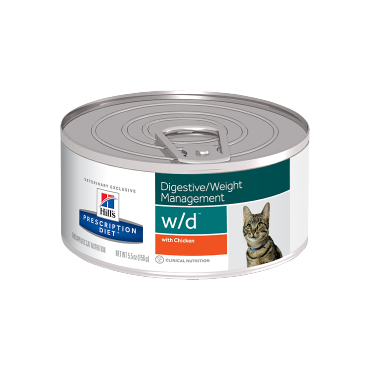 Hills Prescription Diet w/d Feline 156 g