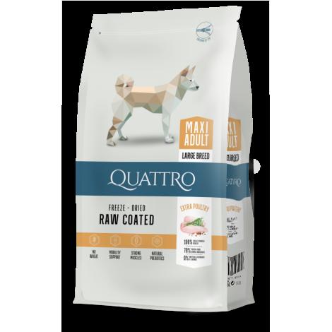QUATTRO Premium Maxi Adult  su daug paukštienos.
