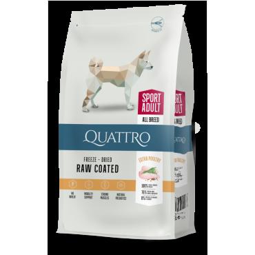 QUATTRO Premium Sport Adult su paukštiena.
