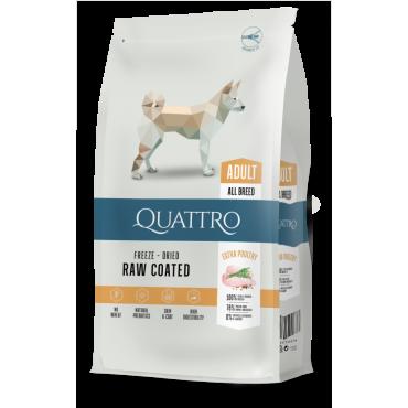 QUATTRO Premium Adult su paukštiena visoms veislėms