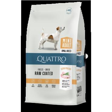 QUATTRO Premium su paukštiena Mini Adult