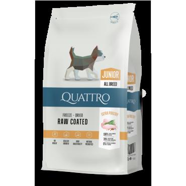 QUATTRO Premium su paukštiena Junior