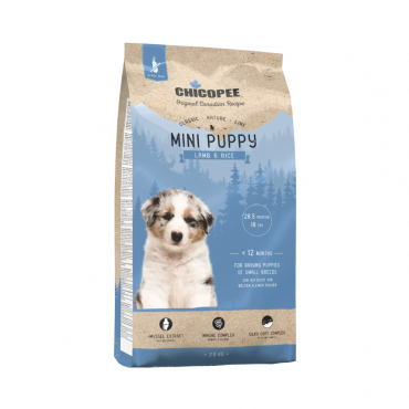 Chicopee Mini Puppy Lamb & Rice 2kg