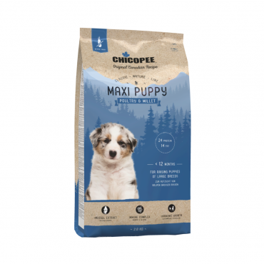 Chicopee Maxi Puppy Poultry & Millet