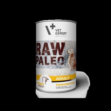 PASIRINKTI SAVYBES Raw Paleo Adult šlapias maistas suaugusiems šunims su kalakutiena, 400g