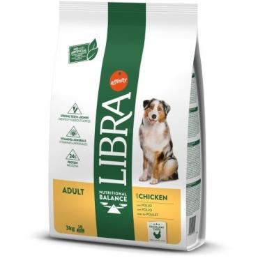 LIBRA DOG CHICKEN maistas Šunims Su Vištiena 12kg