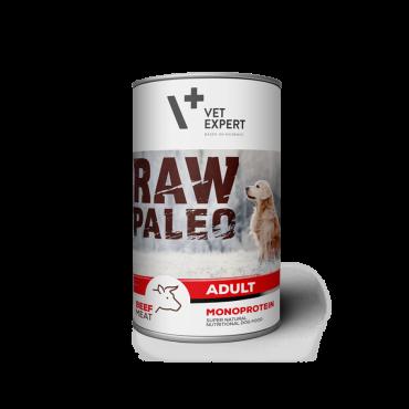 Raw Paleo Adult Beef - konservai šunims su jautiena 400g