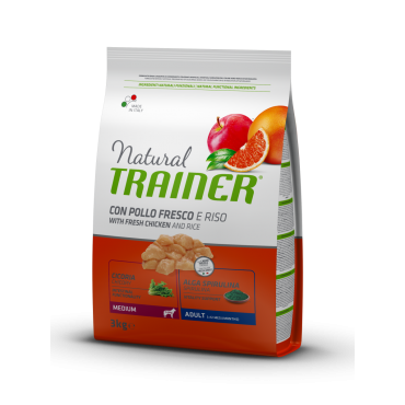 Trainer Natural ADULT MEDIUM su Vištiena