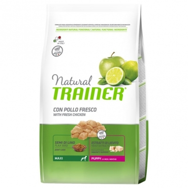 Trainer Natural Maxi  Puppy su Vištiena  12kg