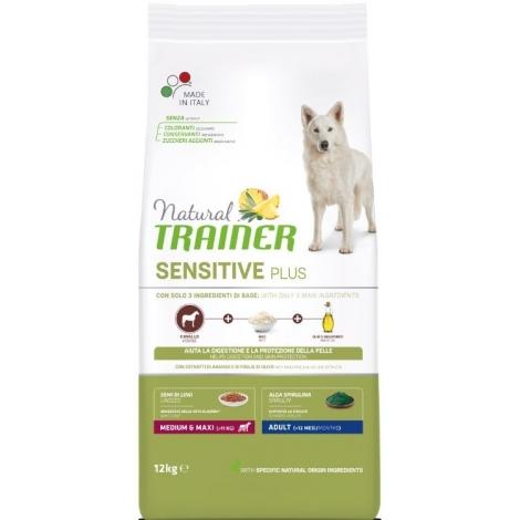 Natural Trainer DOG SENSITIVE PLUS ADULT M/M su  Arkliena