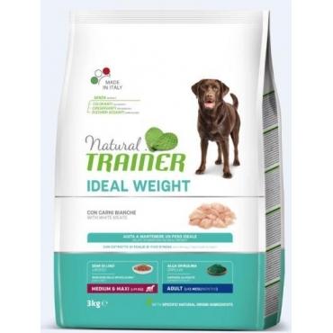 Natural Trainer Adult IDEAL WEIGHT M/M Balta Mėsa 3kg