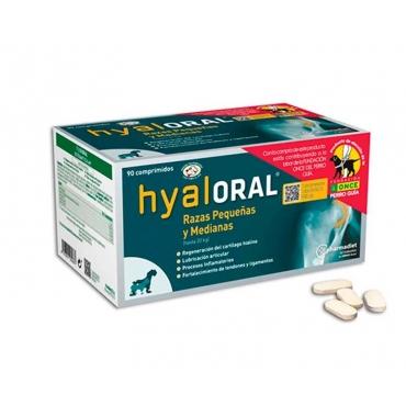 Hyaloral smal and medium papildas šunims 90 tab