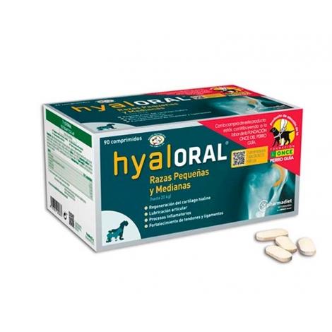 Hyaloral smal and medium papildas sąnarių funkcijai gerinti 90 tab