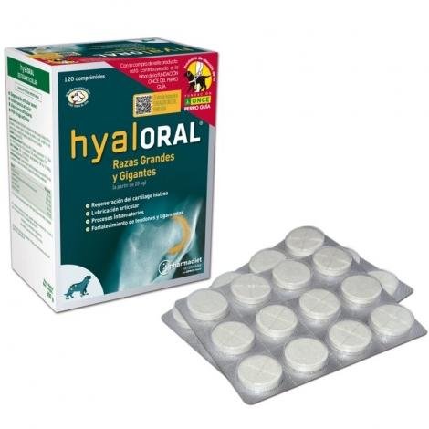 Hyaloral Large and  Giant papildas sąnarių funkcijai gerinti 120 tab