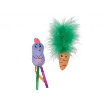 VDG Bunny And Carrot Žaisl. Katėms Su Katžole 2vnt