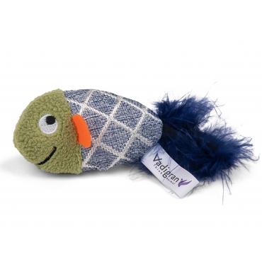 VDG Fancy Fish Mėlyna Žuvytė Katėm Su Katžole 13cm
