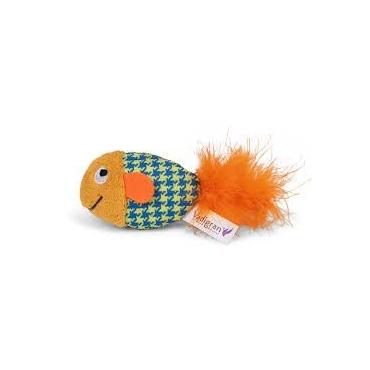 VDG Fancy Fish Oranžinė Žuvytė Katėm Su Katžole 13cm