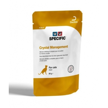 Specific FCW-P Crystal Management - guliašas katėms 85g x 12vnt.