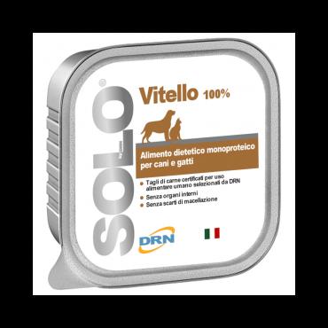 """Solo konservai šunims ir katėms """"Vitello"""" su veršiena"""