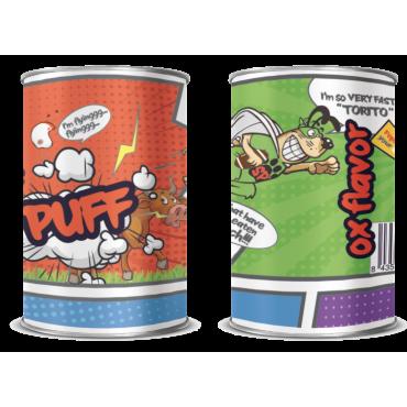 Konservuotas  šunų  maistas  su  jautiena  400 g