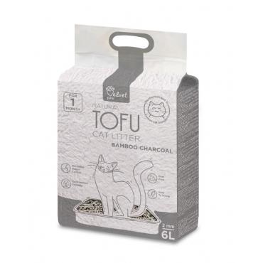 Velvet Paw Tofu kačių kraikas su bambuko anglimi  6 l