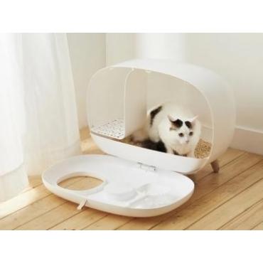 MAKESURE tualetas katėms, baltas,