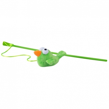 ROGZ Catnip Žalia Lazdelė Su Paukščiuku 80cm