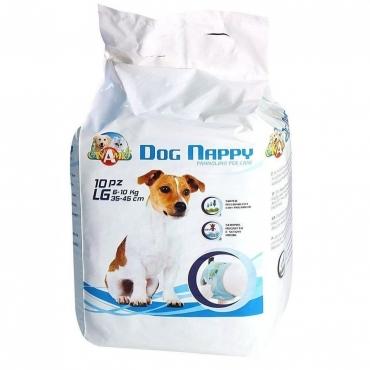 CROCI Dog Nappy Sauskelnės Šunim LG 6-10kg