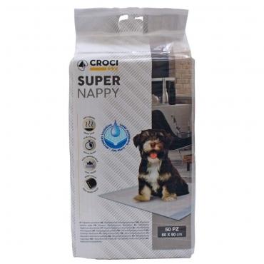 CROCI SUPER NAPPY Higieniniai Paklotai 60x40cm 10 vnt