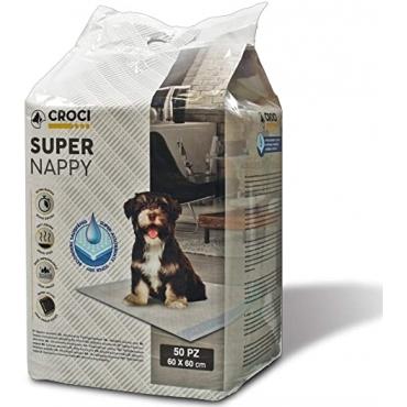 CROCI SUPER NAPPY Higieniniai Paklotai 60x60cm 10vnt