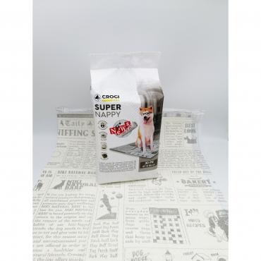 CROCI SUPER NAPPY New Paper Paklotai 57x84cm 30vnt