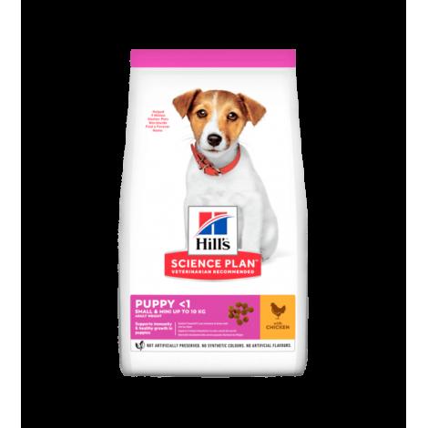 Hill's Science Plan Canine Puppy Small & Miniature Chicken sausas maistas šuniukams