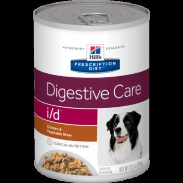 Hill's Canine i/d - konservai šunims, sergantiems virškinamojo trakto ligomis 354g (troškinys