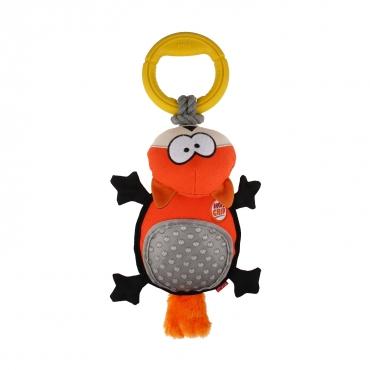 GIGWI Šunų žaislas Lapė su žiedais, pliušinis, oranžinis