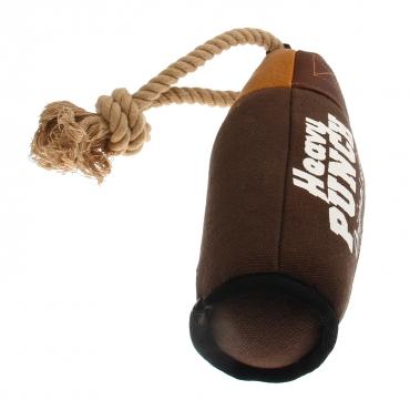 GIGWI Šunų žaislas Bokso kriaušė, rudas