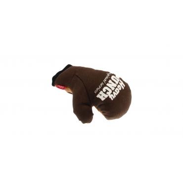 GIGWI Šunų žaislas Bokso pirštinė, rudas