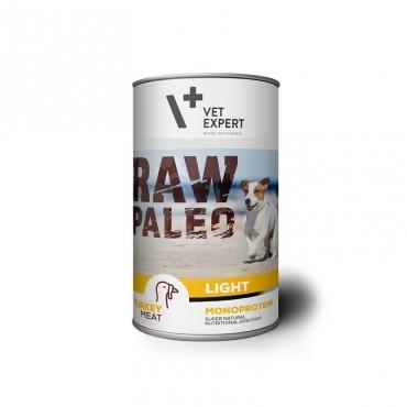 Raw Paleo Light konservai šunims su kalakutiena