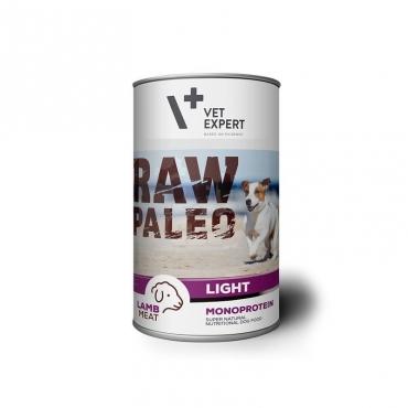 Raw Paleo Light konservai šunims su ėriena,