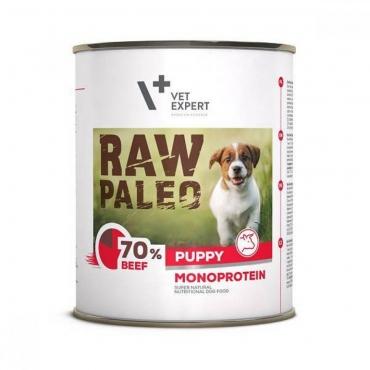 Raw Paleo Puppy konservai šuniukams su jautiena