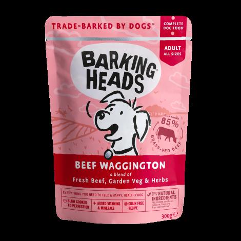 BARKING HEADS Beef Waggington Konservai Šunims Su Jautiena 300g