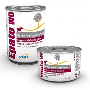 Epato® WD konservai šunims sergant lėtiniu kepenų nepakankamumu