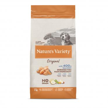 Nature's Variety Original šuniukų maistas su lašiša