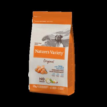 Natures Variety Original No Grain su lašiša